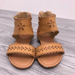 Cat & Jack Toddler Girl Sandals Size 5